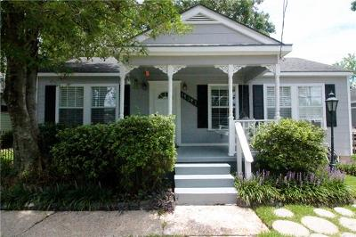 Gretna Single Family Home For Sale: 1514 Jefferson Street