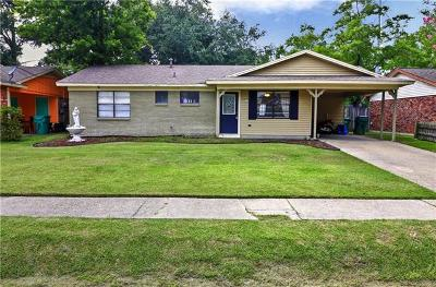 Slidell Single Family Home For Sale: 3613 Meadowdale Drive