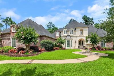 Madisonville LA Single Family Home For Sale: $585,000