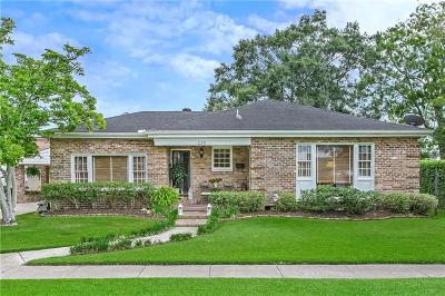 River Ridge, Harahan Single Family Home For Sale: 235 Kielman Avenue