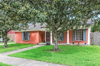 New Orleans Single Family Home For Sale: 2531 Chelsea Drive