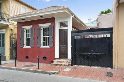 French Quarter Single Family Home For Sale: 730 Dauphine Street