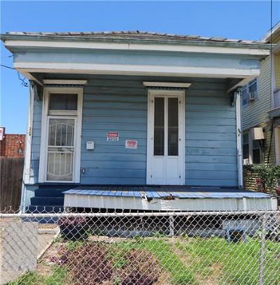 Single Family Home For Sale: 2523 Gravier Street