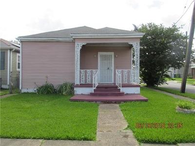 Single Family Home For Sale: 3501 Pauger Street
