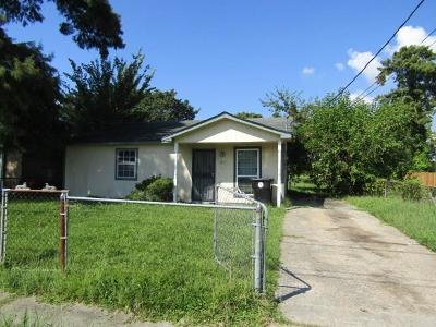 New Orleans LA Single Family Home For Sale: $62,900