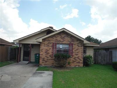 Marrero Single Family Home For Sale: 6020 Becker Street