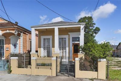 Single Family Home For Sale: 1519 Baronne Street