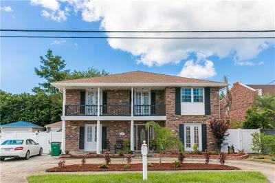 Metairie Single Family Home For Sale: 3909 W Esplanade Avenue