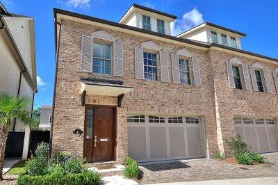 Metairie Townhouse For Sale: 41 Lake Avenue