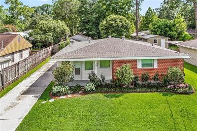 River Ridge, Harahan Single Family Home For Sale: 10408 Ware Street