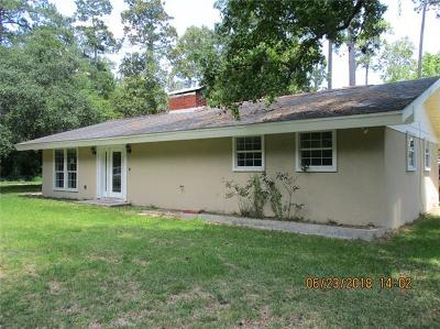 Slidell Single Family Home For Sale: 58342 Loblolly Road