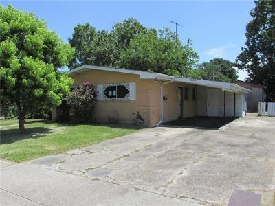Gretna Single Family Home Pending Continue to Show: 2503 Claire Avenue