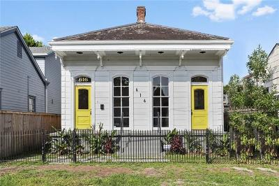 New Orleans Single Family Home For Sale: 616 Sixth Street