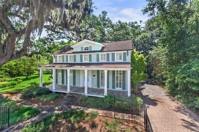 Mandeville Single Family Home For Sale: 149 Coffee Street