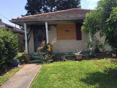 Metairie Single Family Home Pending Continue to Show: 4312 Anthony Street