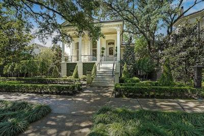 New Orleans Single Family Home For Sale: 4613 St Charles Avenue