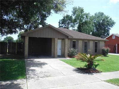 Jefferson Parish Single Family Home For Sale: 2601 Rue Jesann