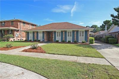 Metairie Single Family Home For Sale: 4937 Avron Boulevard