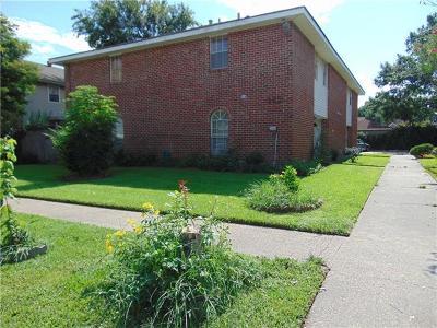 Jefferson Parish, Orleans Parish Condo For Sale: 3624 Martinique Avenue #D