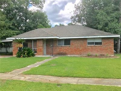 Slidell Single Family Home For Sale: 2123 Middle Drive