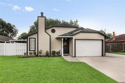 Destrehan, St. Rose Single Family Home For Sale: 334 River Point Drive