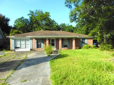 Slidell Single Family Home For Sale: 629 Dale Drive