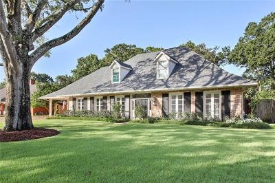 River Ridge, Harahan Single Family Home For Sale: 9826 Elm Place