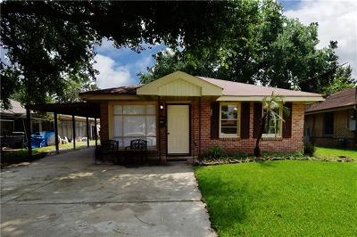 Kenner Single Family Home For Sale: 2118 Illinois Avenue