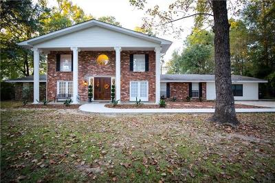 Covington Single Family Home For Sale: 194 Tchefuncte Drive