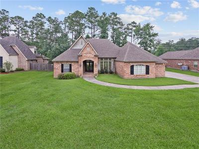 Madisonville Single Family Home For Sale: 206 Le Cirque
