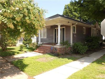 New Orleans Single Family Home For Sale: 119 Ringold Street