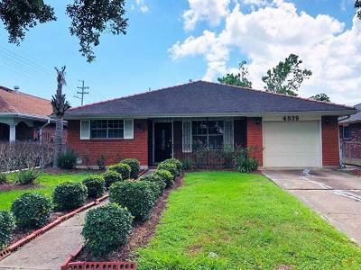 Single Family Home For Sale: 4839 Elysian Fields Avenue