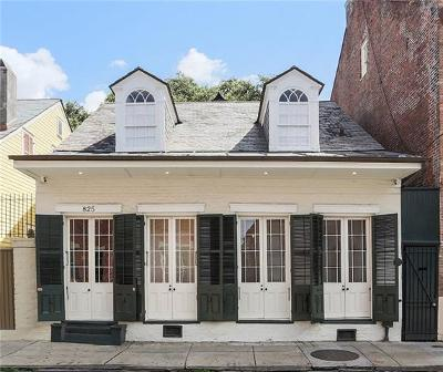 New Orleans Single Family Home For Sale: 825 Dumaine Street