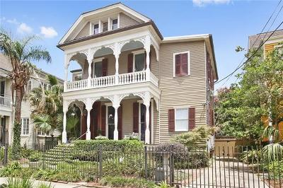 New Orleans Single Family Home For Sale: 1929 General Pershing Street
