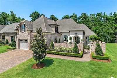 Covington Single Family Home For Sale: 412 N Corniche Du Lac