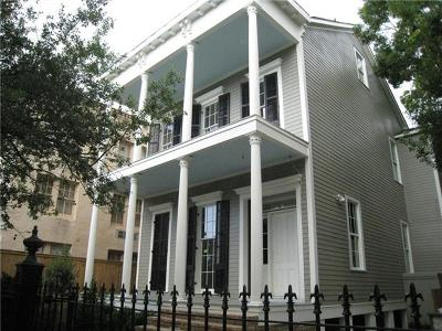 New Orleans Single Family Home For Sale: 3316 Prytania Street