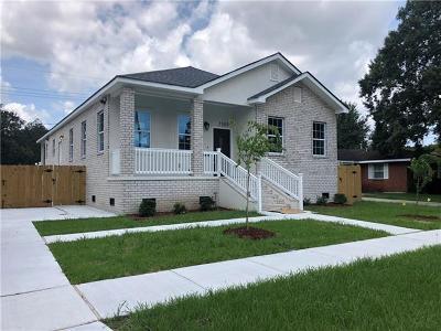 Kenner Single Family Home For Sale: 2309 Roosevelt Boulevard