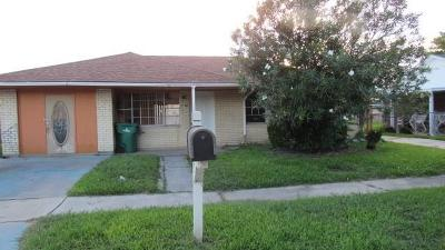 Jefferson Parish Single Family Home For Sale: 1240 Martin Drive