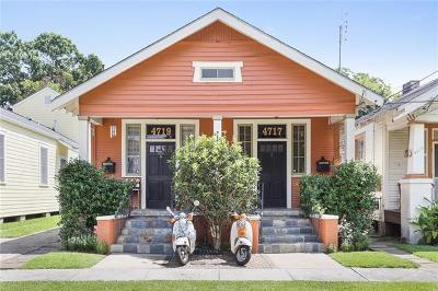New Orleans Multi Family Home For Sale: 4717 Palmyra Street