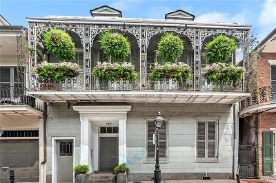 French Quarter Multi Family Home For Sale: 1023 Chartres Street #2