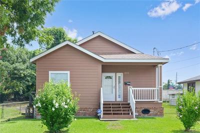 Gretna Single Family Home For Sale: 2229 Lafayette Street