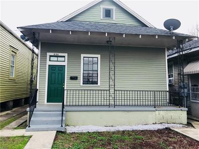 New Orleans Single Family Home For Sale: 823 De Armas Street