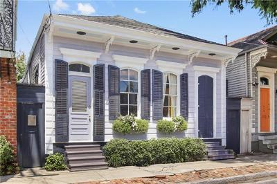 Single Family Home For Sale: 614 Mandeville Street