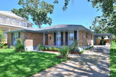 Metairie Single Family Home For Sale: 3405 James Drive