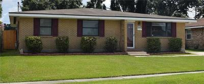 Metairie Single Family Home For Sale: 8908 Fulton Street