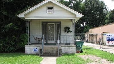 Gretna Single Family Home For Sale: 606 Franklin Street