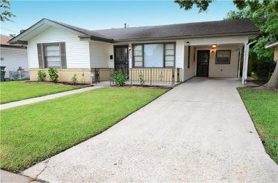 Marrero Single Family Home For Sale: 2036 Manor Heights Drive