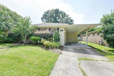 Metairie Single Family Home For Sale: 448 Beverly Garden Drive