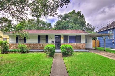 New Orleans Single Family Home For Sale: 4422 Lancelot Street