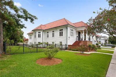 New Orleans Single Family Home For Sale: 1160 City Park Avenue